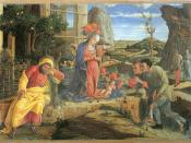 Adoration of the Shepherds, Mantegna