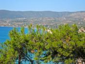 View towards Memi beach