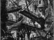 English: Giovanni Battista Piranesi: Untitled etching (called
