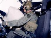 English: OH-58D Kiowa Cockpit Air Bag System (CABS).