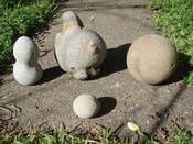 Sandstone Concretions.All concretions were collected at Northern California beaches.
