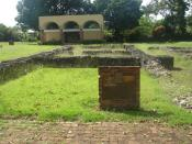 English: Ruins of Juan Ponce de Leon's residence at Caparra in Puerto Rico