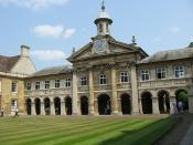 Emmanuel college, Cambridge