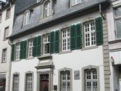 Karl Marx birthplace in Trier, Germany - Brückenstraße 10