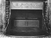 English: A Franklin stove. Category:Technology images