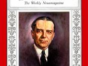 English: Time Jan 6, 1930 cover showing Owen D. Young