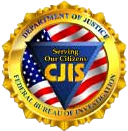 "Seal of the National Crime Information Center (NCIC), USA. — ""Servicing Our Citizens"""