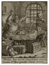 Wenceslas Hollar - Miser (State 2)