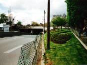 The Alma tunnel in Paris, where Princess Diana died