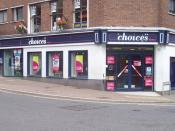 English: Tiverton : Choices Video Store