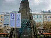 Statue of Jón Sigurðsson in Reykjavík