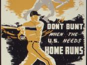 At Your Job Today...Don't Bunt When the U.S. Needs Home Runs - NARA - 534367
