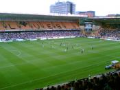Molineux Stadium, home of Wolverhampton Wanderers
