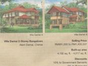 Under the Malaysian New Economic Policy, Bumiputras are given discounts on real estate.