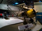 English: A Fiat CR.42 at the Royal Air Force Museum, London