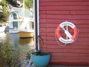 English: Lifebuoy from insurance company TrygVesta