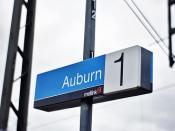 Auburn Railway Station