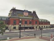 English: The Salt Lake City Union Pacific Depot, Salt Lake City, Utah. Taken by me in 2002.