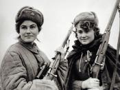 Members of the Sydir Kovpak partisan detachment