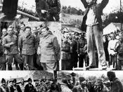 Top left: File:138 Ante Pavelic.jpg Top right: File:Stjepan Filipovic.jpg Middle left: File:Marshal Tito during the Second World War in Yugoslavia, May 1944.jpg Bottom left: File:Draza confers with his men.jpg Bottom right: File:Ustasaguard.jpg