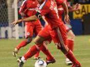 English: Dwayne DeRosario TFC 2010