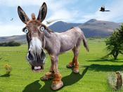 Democratic Donkey - Caricature