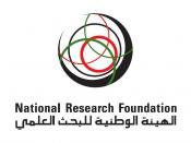 English: National Research Foundation Corporate Identity