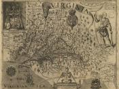 English: John Smith, A Map of Virginia: With a Description of the Countrey, the Commodities, People, Government and Religion (1612)