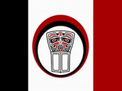 Flag of the Nisga'a Nation