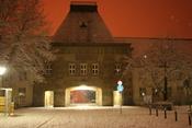 Deutsch: Uni Mainz, Forum, Rückseite Français : Le Forum et entrée principale de l'Université Johannes Gutenberg de Mayence
