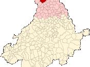 Localización de Madrigal de las Altas Torres en la provincia de Ávila