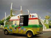 English: Cone Queen Ice-Cream Truck from Brisbane, Australia. Yum!
