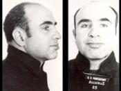 English: Al Capone while incarcerated at Alcatraz.