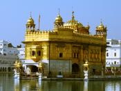 The Harimandir Sahib, commonly known as the Golden Temple