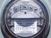 PG&E Meter on Angele Island.