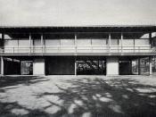 A House, Kenzo Tange Arch. in 1953. (自邸、設計:丹下健三、田良島昭、施工:渡辺栄吉、名木喜作、1953年)