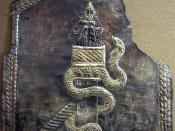 A snake associated with Saint Simeon Stylites.