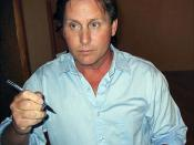 Emilio Estevez at the Venice Film Festival in 2006