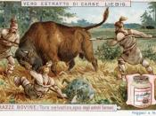 Italian Advertising for Liebig Extract of Meat, circa 1900 Italiano: Pubblicità italiana dell'estratto di carne Liebig, circa 1900
