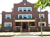 Sigma Alpha Epsilon Fraternity House at the University of Illinois on the NRHP since February 22, 1990. At 211 E. Daniel St., Champaign, Illinois