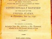 cover of text of Jay Treaty