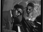 [Portrait of Thelonious Monk and Howard McGhee, Minton's Playhouse, New York, N.Y., ca. Sept. 1947] (LOC)