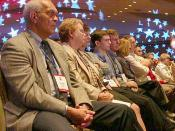 Audience in 2007 in Washington, DC at the Values Voters conference