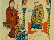 Hugh of Cluny, Holy Roman Emperor Henry IV, and Matilda of Tuscany