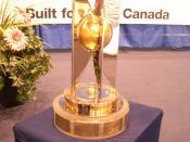 English: World Women's Championship Trophy