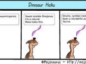 Dinosaur Haiku