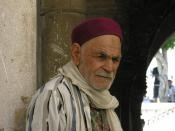 Old Man in Tunis
