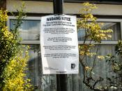 Newspeak WARNING - 'The Hale' CPZ  'upgraded' with 'new parking signs & lines'
