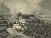 The Lick Observatory. Photogravure from a photograph.