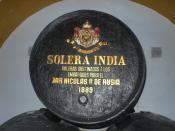 Sherry Barrel for Russian Tsar Micolay sencond
